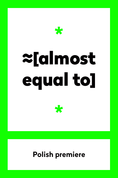Almost equal to